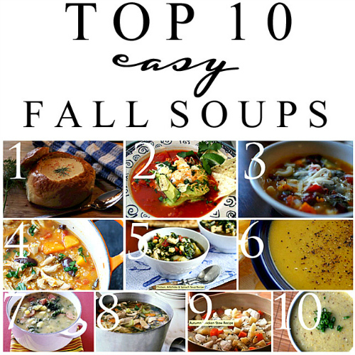 Top 10 Easy Fall Soups
