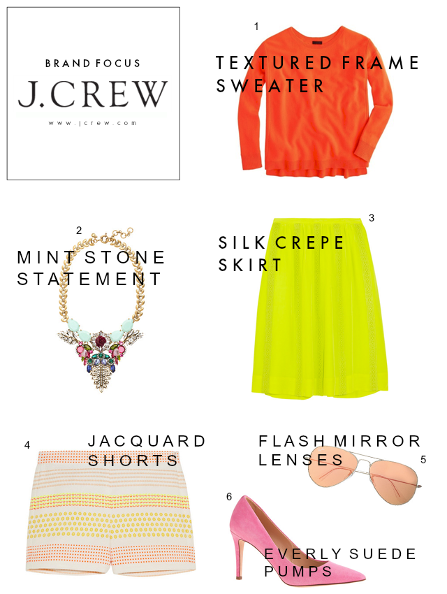 Brand Focus | JCrew Science of Color