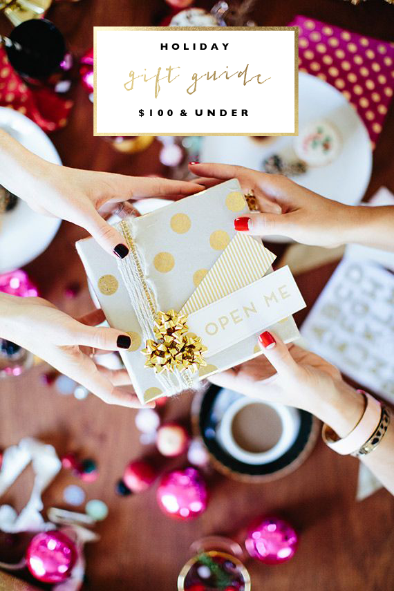 Holiday Gift Guide   $100 & Under