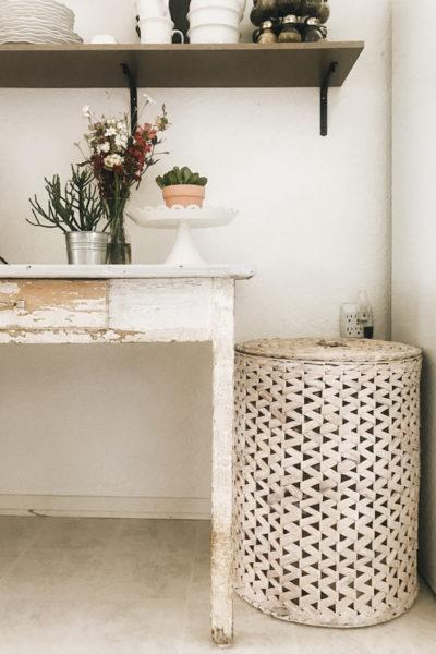 Flea Market Find – Kitchen Table