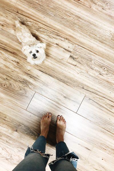 Our New Basement Flooring
