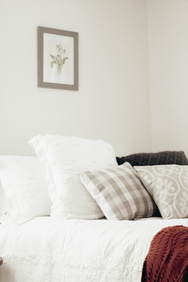 Our Fall Bedroom | Five Ways To Warm Up A Space For Fall With Meijer ...