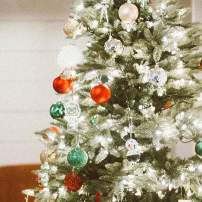 Our Christmas Tree & Christmas Morning Traditions with Treetopia